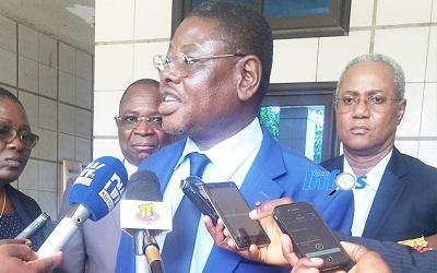 Le ministre Bagbiegue exhorte les élèves au sérieux, gage de réussite