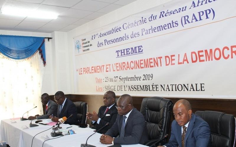 Gestion électronique des débats parlementaires : Lomé abrite une réunion sur les bonnes pratiques