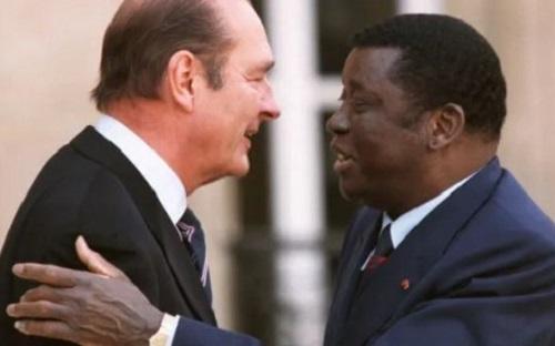 Sur les traces de l'« ami personnel » des Gnassingbé, Chirac au Togo