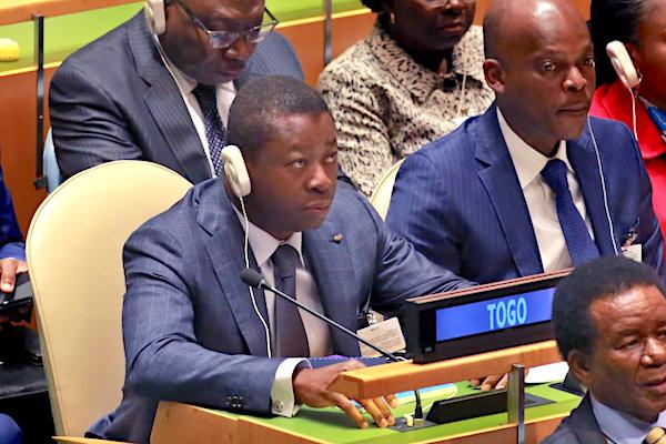 AG de l'ONU : le Chef de l'Etat a pris part à l'ouverture du débat général