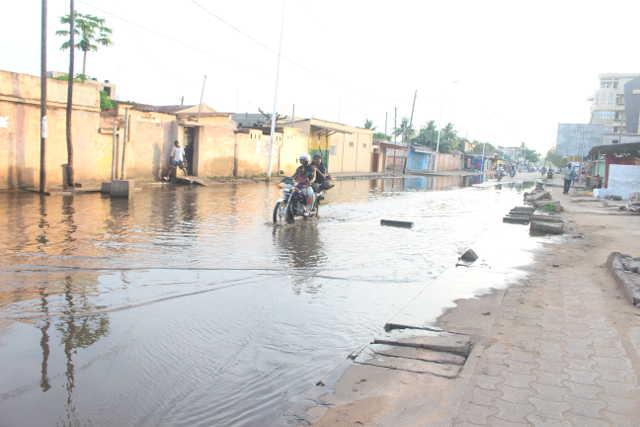 Togo : Inondations, Banditisme, Braquages… Au secours de l'axe Marché de Bè-Fiata !