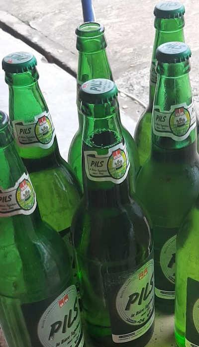 Togo / Brasserie BB Gate :  la Capsule de la Pils!