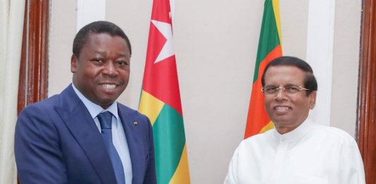 Le Chef de l'Etat en visite officielle au Sri Lanka
