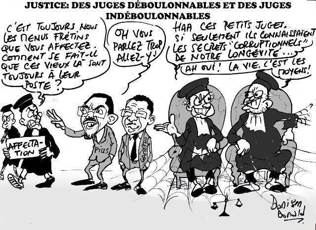 Togo, Longévité de beaucoup de magistrats en poste : Pius Agbetomey et Akakpovi Gamatho, coupables !