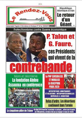 Protectionnisme contre Guerre économique : Patrice Talon et Faure Gnassingbé, ces Présidents qui vivent de la contrebande !