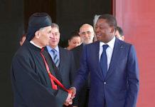 Le Chef de l'Etat a reçu le patriarche de l'église maronite