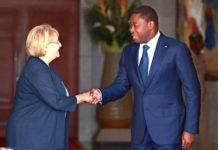 L'ambassadeur du Canada en fin de mission au Togo