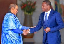 Le représentant de l'Unicef en fin de mission au Togo