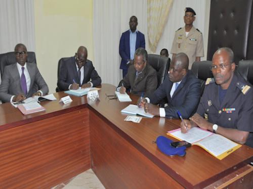La plateforme de risques de catastrophes fait le point sur la situation de Lomé après les pluies