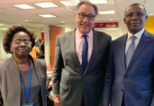 Echanges entre le ministre de l'économie et le vice-président de la Banque Mondiale