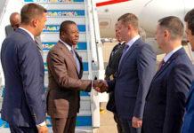 Sommet Russie-Afrique : le Chef de l'Etat est arrivé à Sotchi