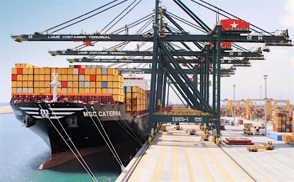 Les activités de transbordement au Port de Lomé ont augmenté près de 50 fois depuis 2012