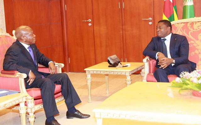 Les chefs d'État du Conseil de l'Entente à Lomé en novembre