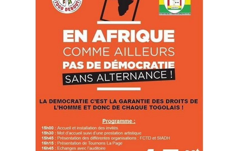 Des membres de « Tournons La Page » interdits d'entrer au Togo