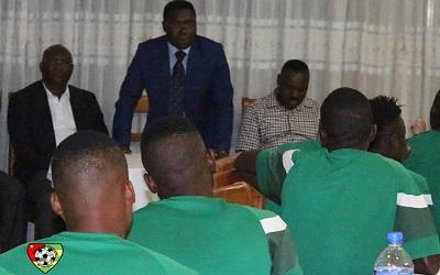 CHAN 2020 : Un message de Faure Gnassingbé et une enveloppe aux Eperviers avant leur départ pour le Nigeria