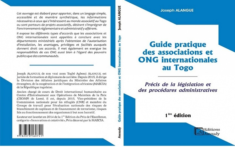 Interview de M. Joseph ALANGUE au sujet du « Guide pratique des associations et ONG internationales au Togo »