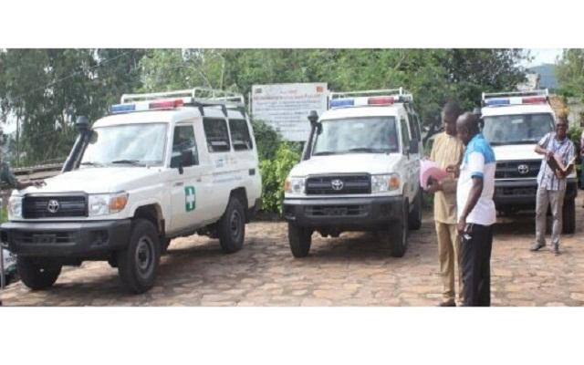 Projet MUSKOKA : Des ambulances au profit de trois centres de santé