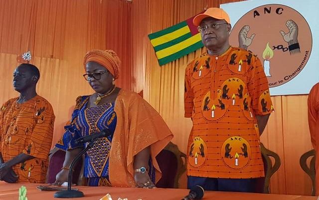 Même devant Mme Adjamagbo-Johnson, Jean-Pierre Fabre persiste et signe : « La candidature unique n'est pas la panacée »