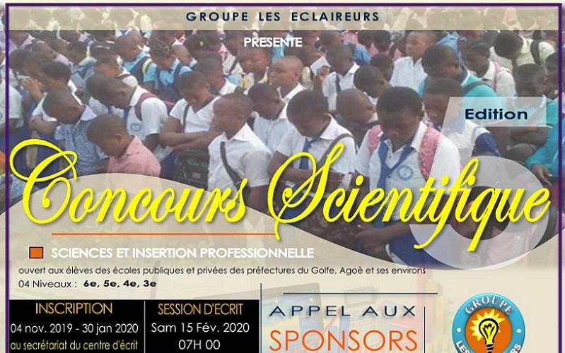 Le « Groupe les Éclaireurs » annonce la 5e édition du concours scientifique