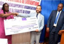665 millions FCFA pour 30 organisations de la société civile