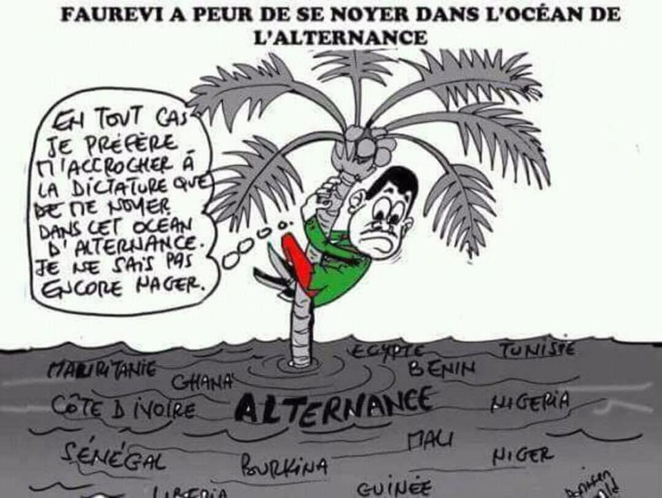 Togo, 2020 et problématique de l'alternance : Fébrilité sur fond de paranoïa du pouvoir RPT-UNIR