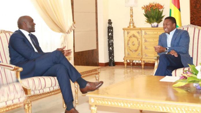 Le Vice-président de la Banque Mondiale pour l'Afrique fait le point de la coopération avec le Chef de l'Etat