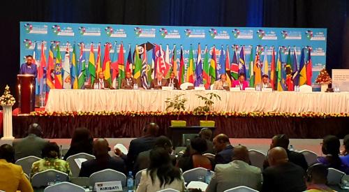 Le sommet des pays ACP s'est ouvert à Nairobi