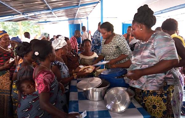 Lancement des 'Restaurants Communautaires' en faveur des personnes vulnérables