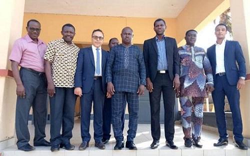 Mission conjointe du SCAC et de CH-I/Togo dans le cadre du projet ISME-Togo