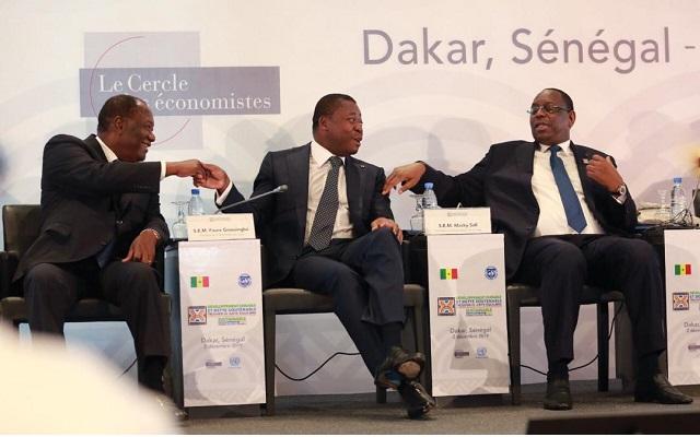 Faure Gnassingbé parle du PND à Dakar
