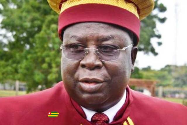 L'éternel président de la Cour constitutionnelle du Togo, le sieur Aboudou Assouma