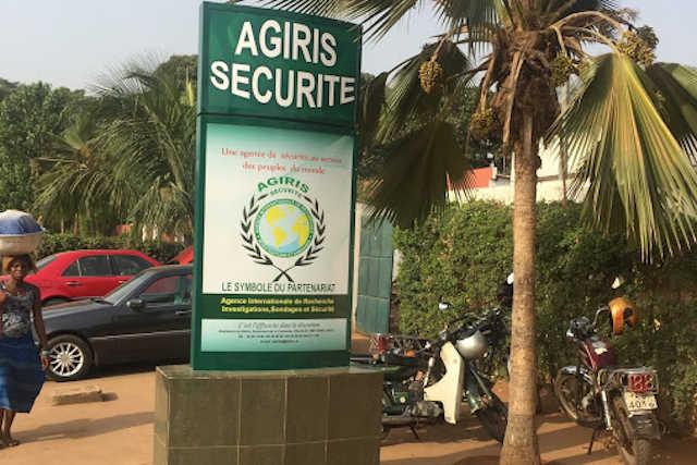 Siège de Agiris Sécurité à Lomé, Togo   Photo : DR