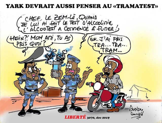 alcootest au Togo