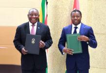 Le Togo et l'Afrique du Sud désormais liés par un Accord-cadre de coopération