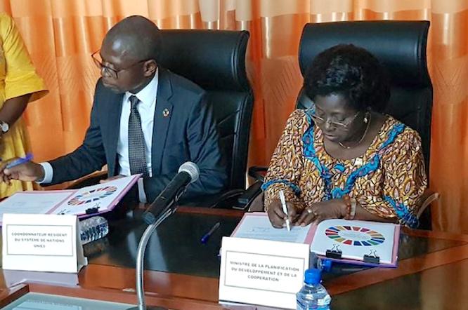 Le Togo et les Nations Unies renouvellent leur cadre de coopération