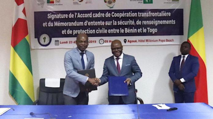 Le Togo et le Bénin renouvellent leur accord cadre de coopération transfrontalière