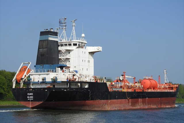 Le navire DUKE | Photo : Maritine Traffic