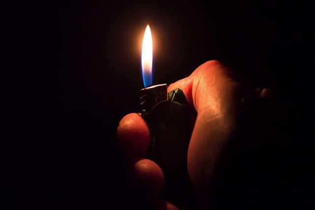 togo dans le noir