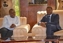 Le Chef de l'Etat a reçu le nouveau président élu de la Guinée Bissau
