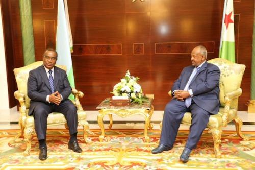 Le Premier ministre s'est entretenu avec le Président de Djibouti