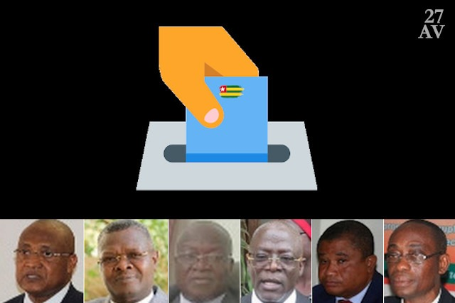Fabre, Kodjo, Gogué, Tchassona, Kouessan et Wolou   Infog : 27avril.com