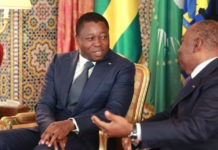 A Libreville, le Chef de l'Etat s'est entretenu avec Ali Bongo Ondimba
