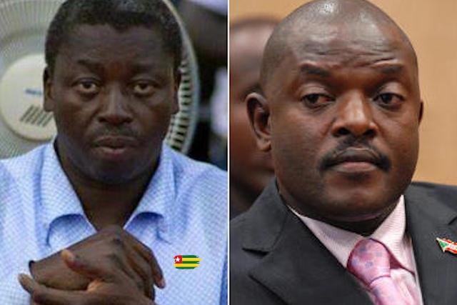 Faure Gnassingbe et Pierre Nkurunziza