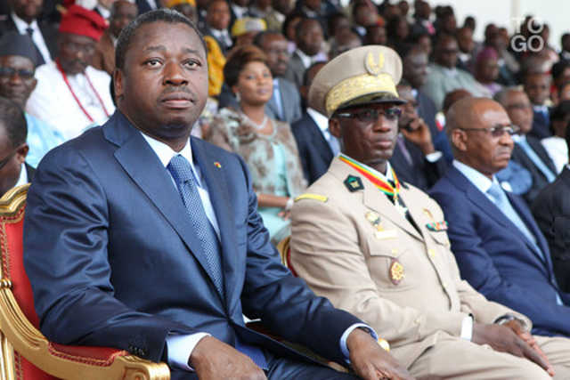 Faure Gnassingbé et sa minorité pilleuse   Photo : RT
