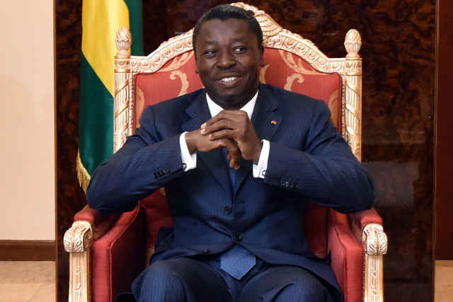 Faure Gnassingbe kodjo indecent