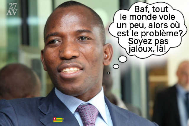 gilbert bawara corruption fonctio publique togo