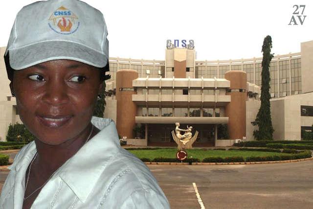 Ingrid Awade CNSS Togo