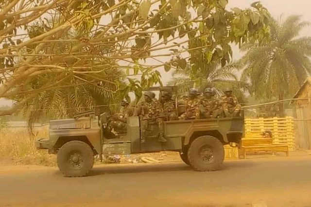 militaire armee de faure sokode togo