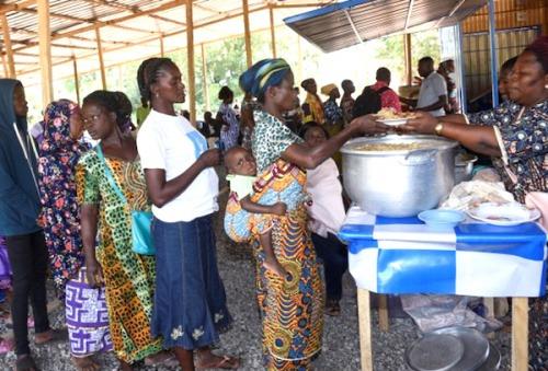 Les Restaurants Communautaires s'étendent à 10 nouvelles zones à Lomé, 5000 personnes seront touchées
