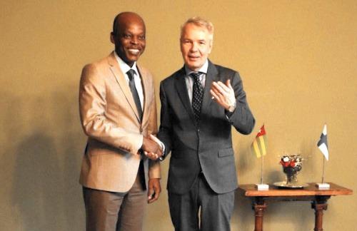 Le Togo et la Finlande bientôt liés par un Accord-Cadre